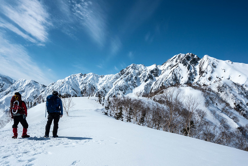 冬の大遠見山の集合写真