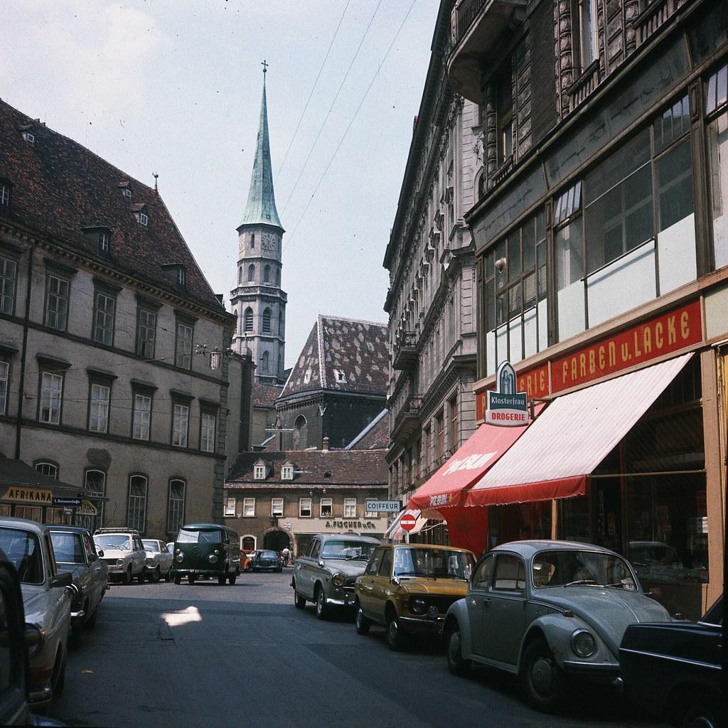 29. Вид на улицу в центре Вены