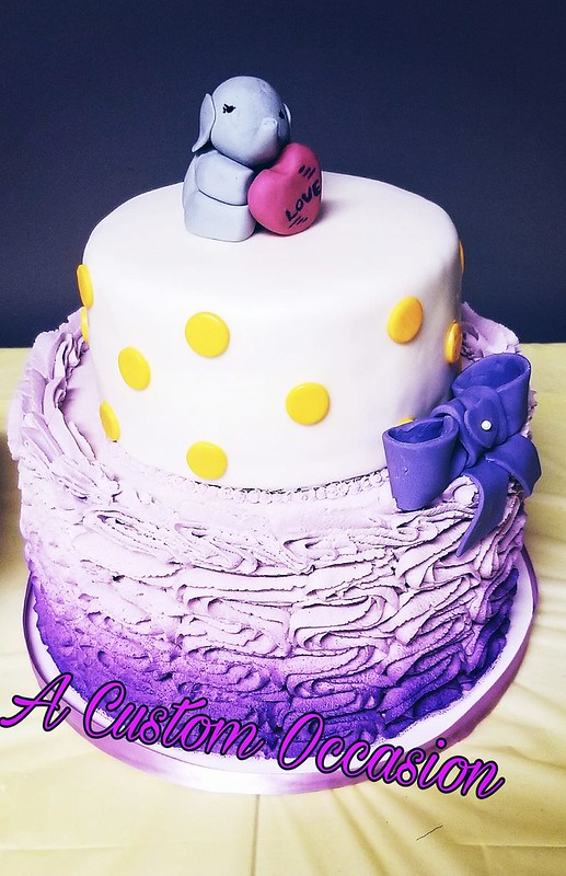 Cake by A Custom Occasion, LLC