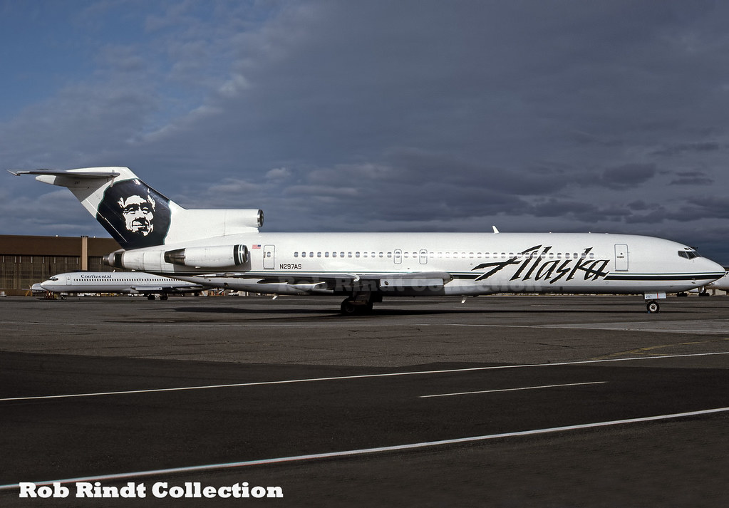 Alaska Airlines B727-2Q8/Advanced N297AS