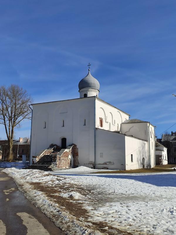 Великий Новгород - Церковь Успения на Торгу
