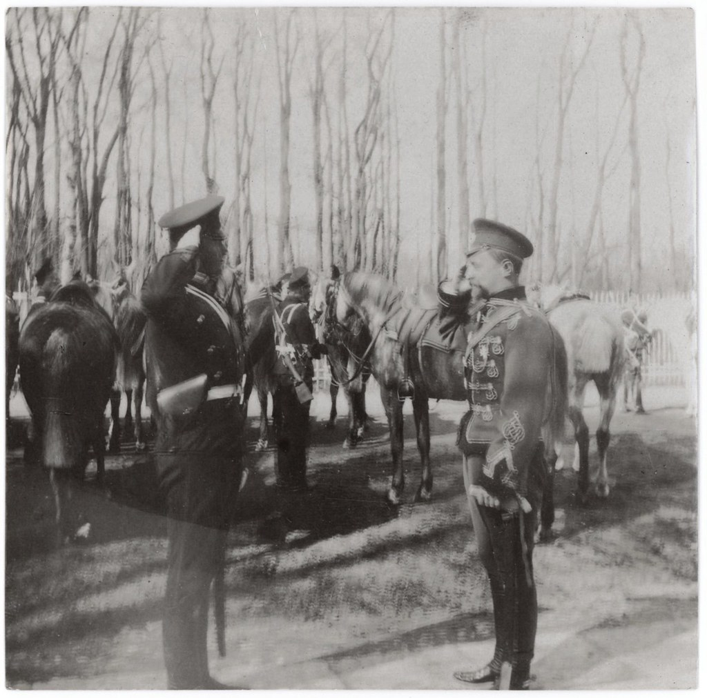1910. Доклад вахмистра 2м эскадрона командиру эскадрона