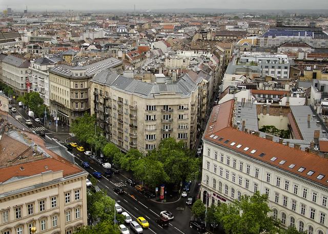Budapest: Bajcsy Zsilinszky Street