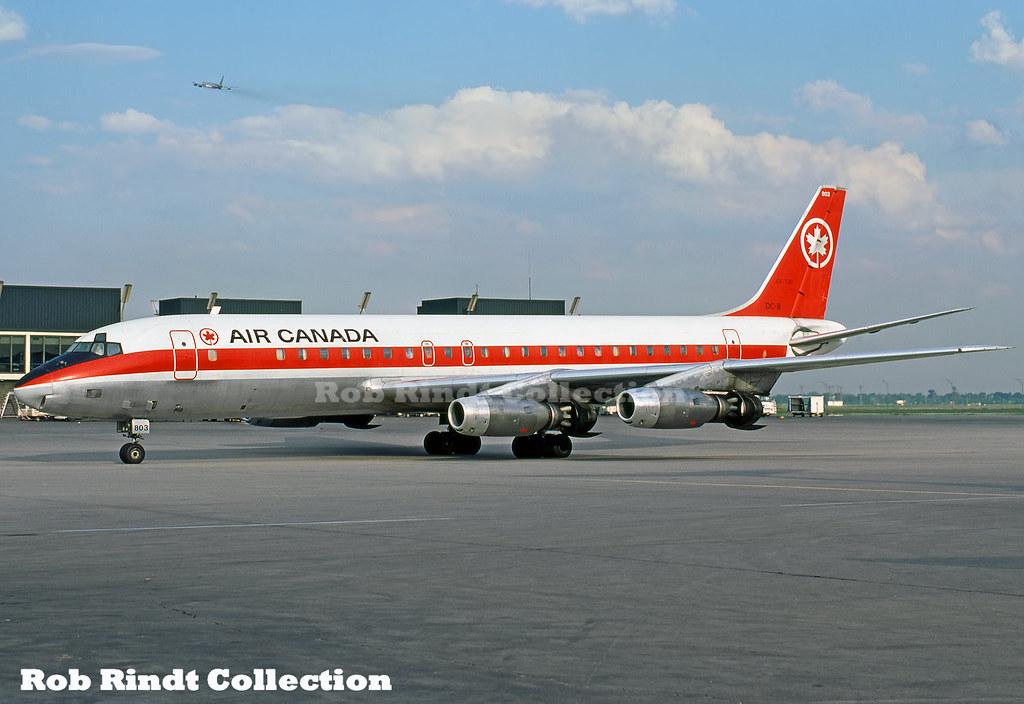 Air Canada DC-8-43 CF-TJC