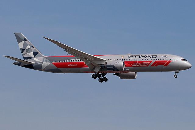 A6-BLV | Boeing 787-9 Dreamliner | Etihad Airways (special