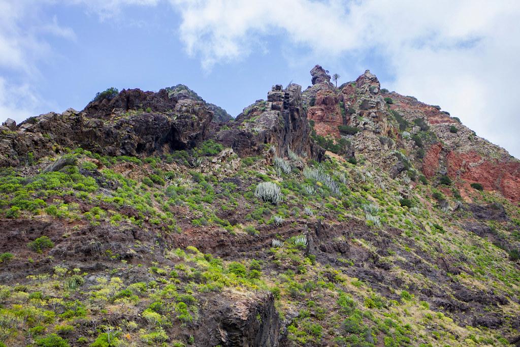 Geología del sendero de Afur a Taganana