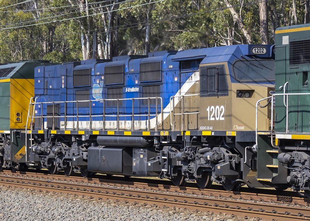 Locomotive 1202 of NREC National Rail Equipment Company USA by Paul Leader - Paulie's Time Off Photography