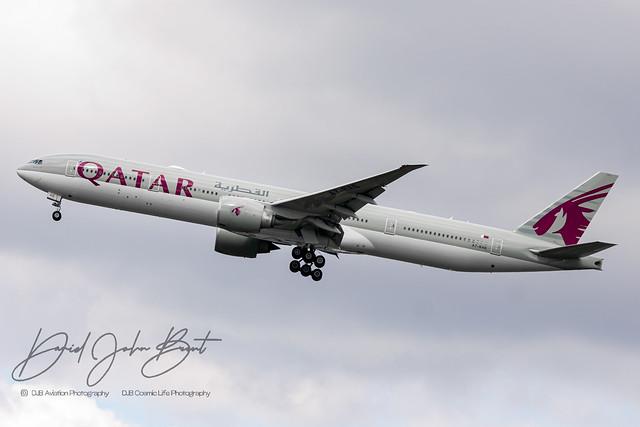 Qatar Airways • Boeing 777 • A7-BEA
