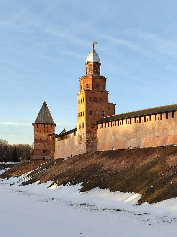 Великий Новгород - Новгородский кремль (Детинец) - Башня Кокуй