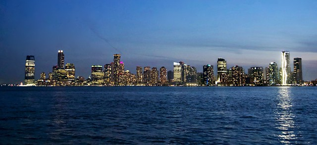 City Lights - Jersey City Skyline