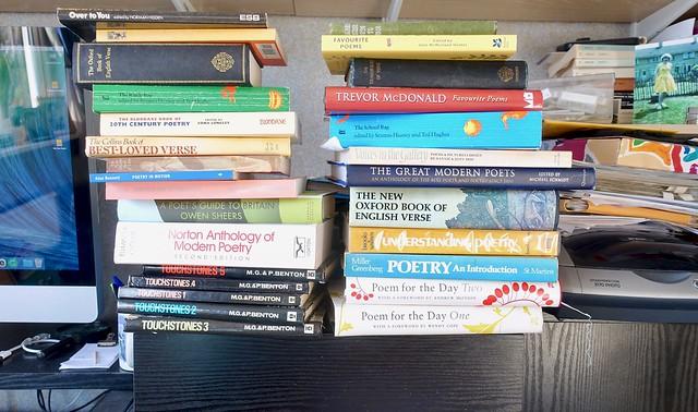 Poetry anthologies 119:365 (5:1580)