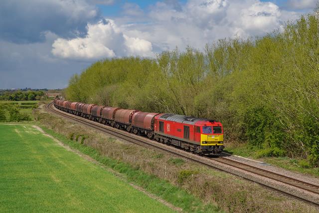 60062 At Barrow upon Trent. 29/04/2021.