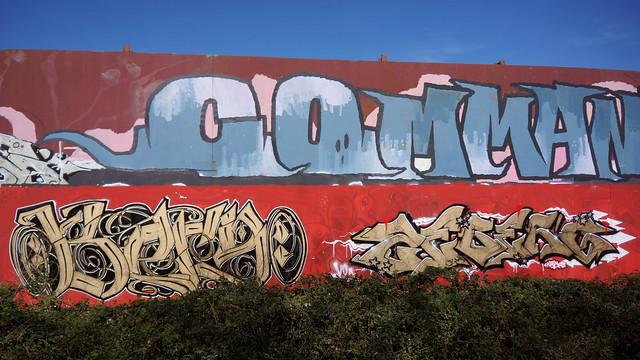 OLDENBURG - Metal Wall / - Street: Stedinger Straße, Drielaker Straße / -  Graffiti, Streetart / - the 260th picture