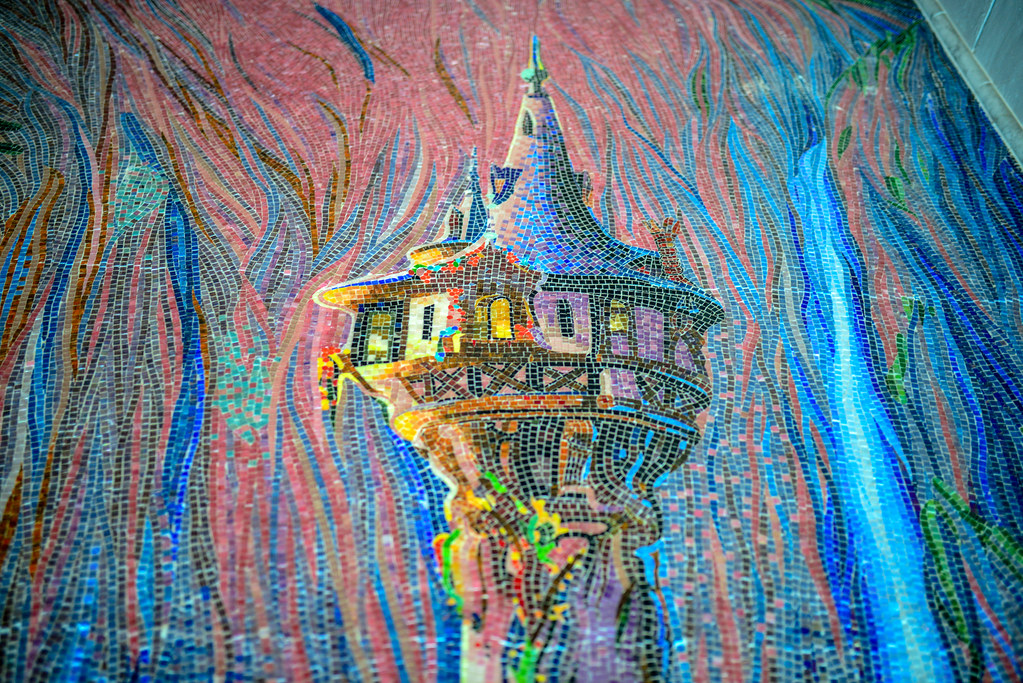 Tangled Tower Riviera mural