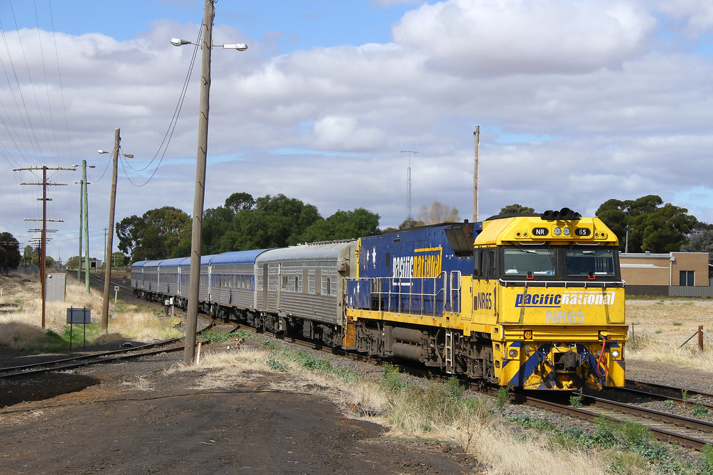Slowing for Nhill by David Arnold