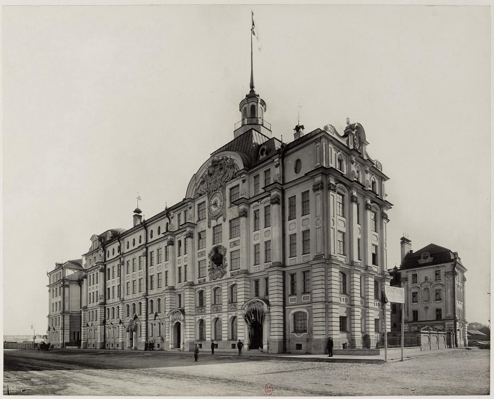 1912. Училищный дом Императора Петра I