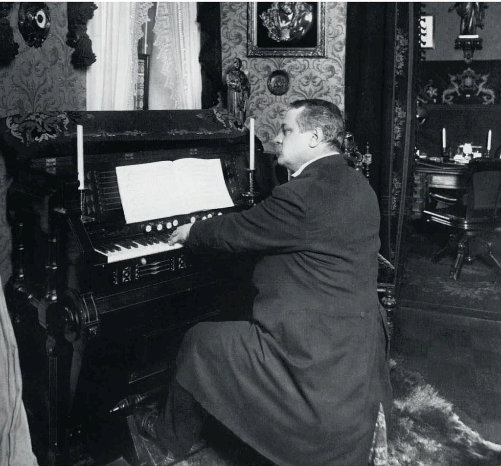 1910. Герман Каянус,пастор шведской церкви святой Екатерины
