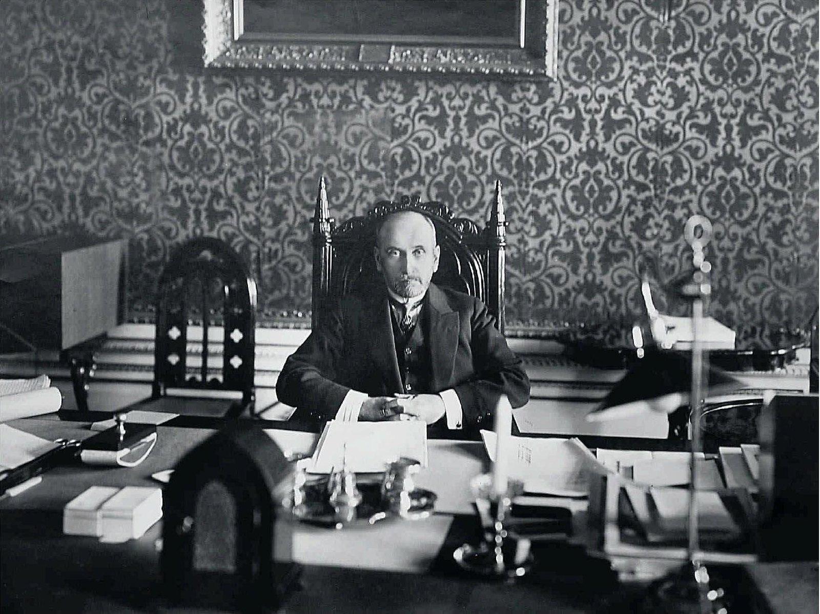 1912. Министр иностранных дел С.Д.Сазонов