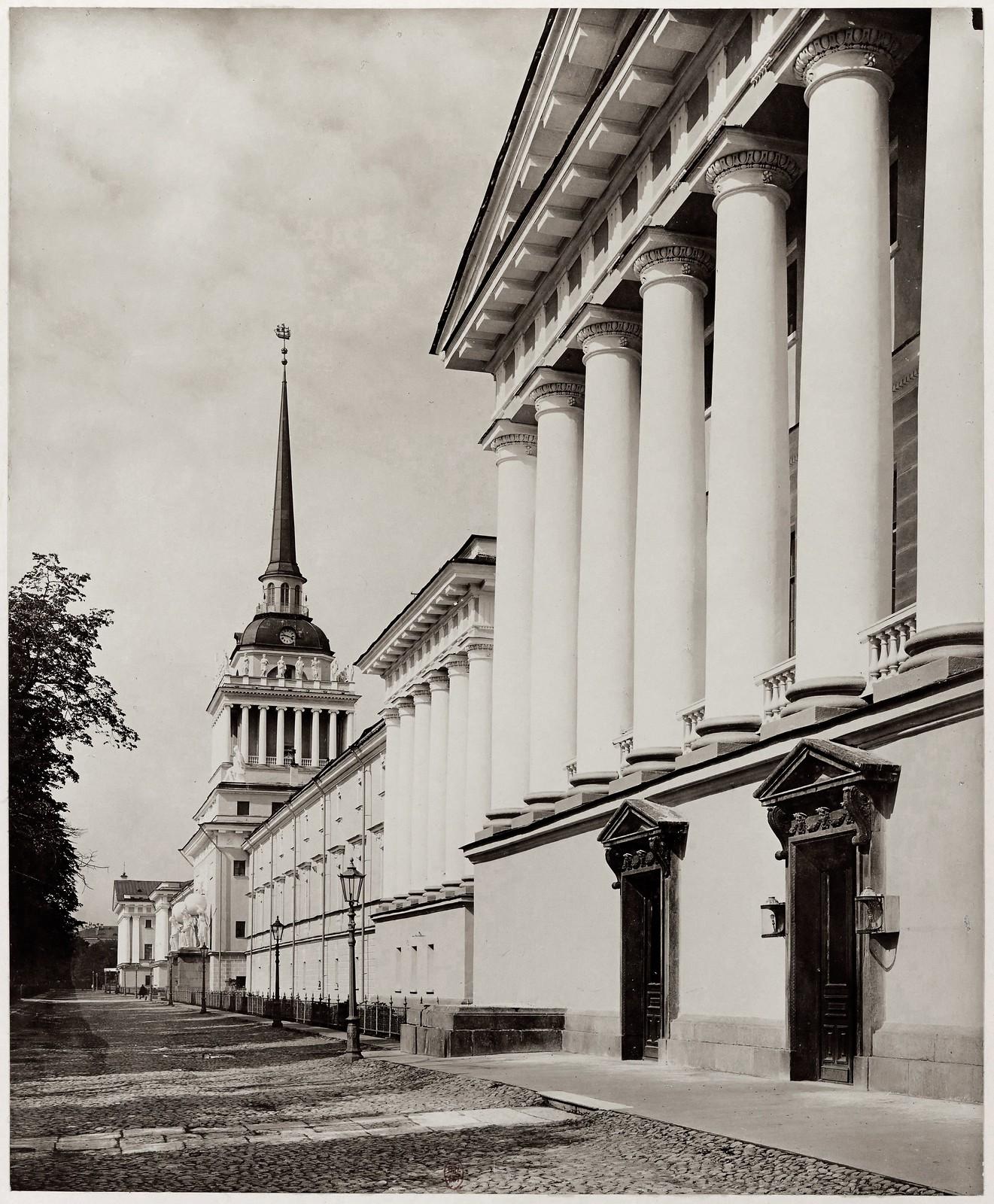 1900-е. Адмиралтейство со стороны Невского проспекта