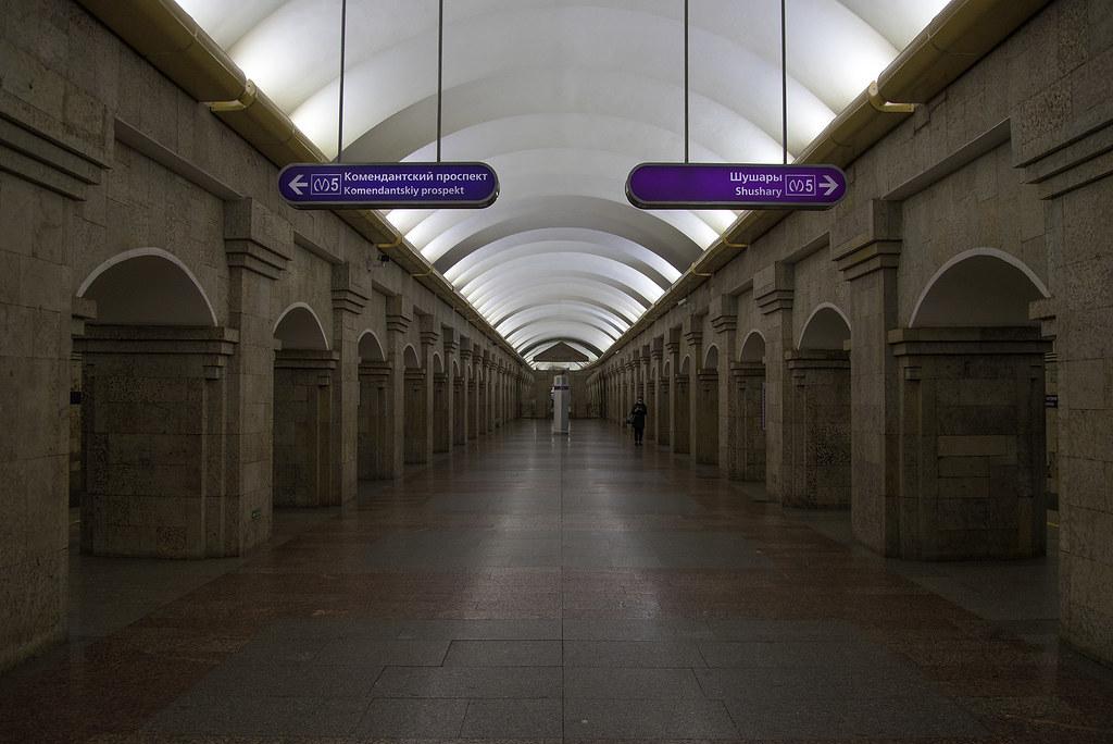 Krestovsky Ostrov metro station