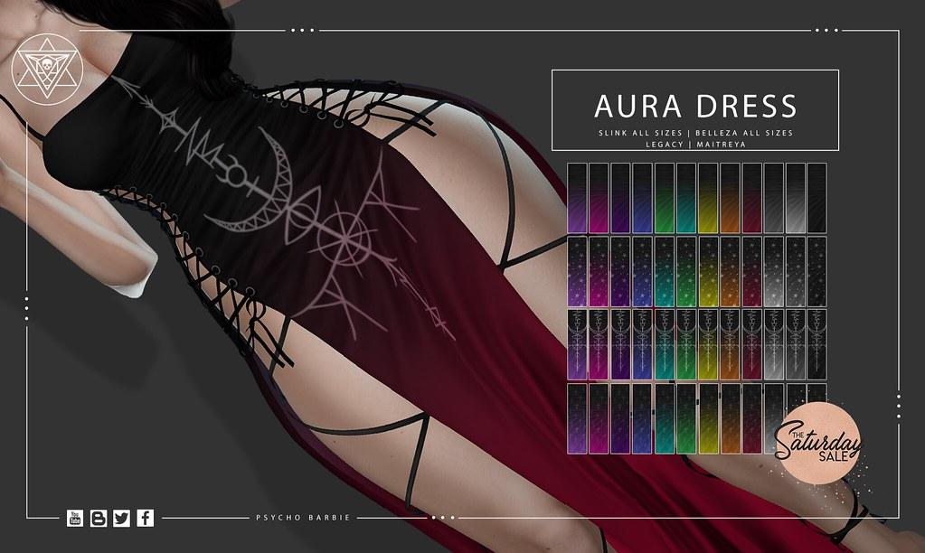 Aura Long Dress @ Saturday Sale – 50L