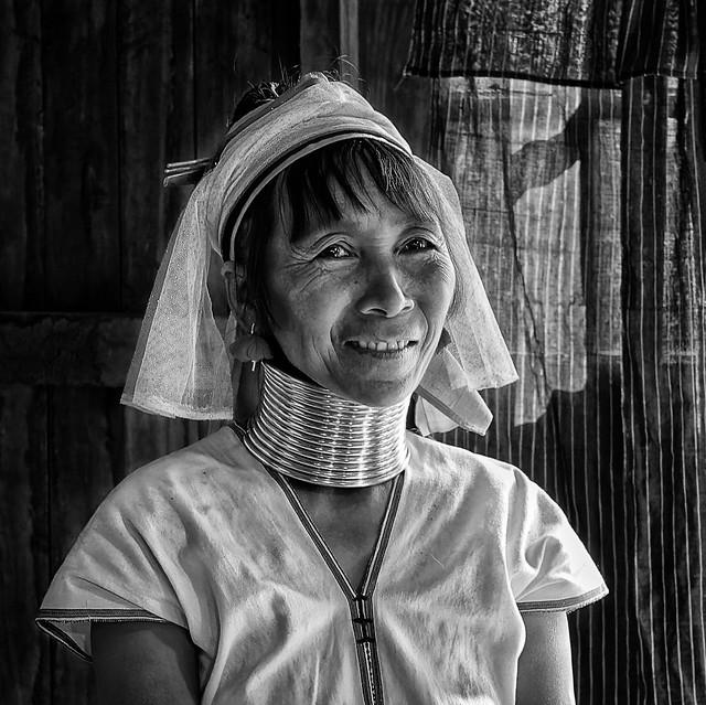 Femme Padaung au Myanmar