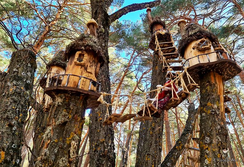 El Bosque Mágico de la Fuente del Pino