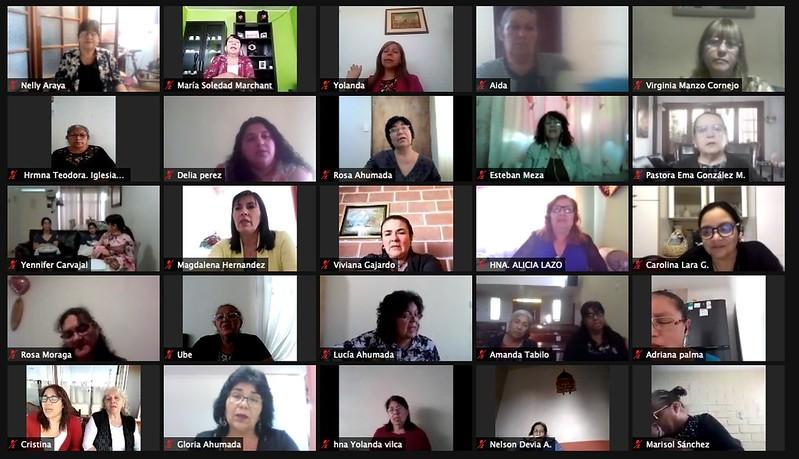 Servicio de Pastoras y Hermanas Dorcas, sector 1.