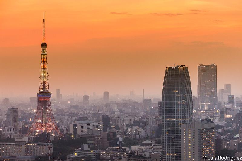 Vistas desde nuestra habitación en el hotel The Royal Park Hotel Tokyo Shiodome