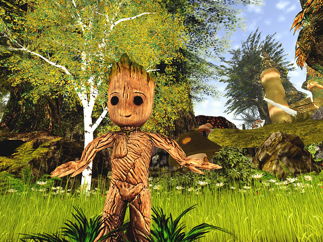 Fantasy Faire -Peaville Goes Nuts - I Am Groot