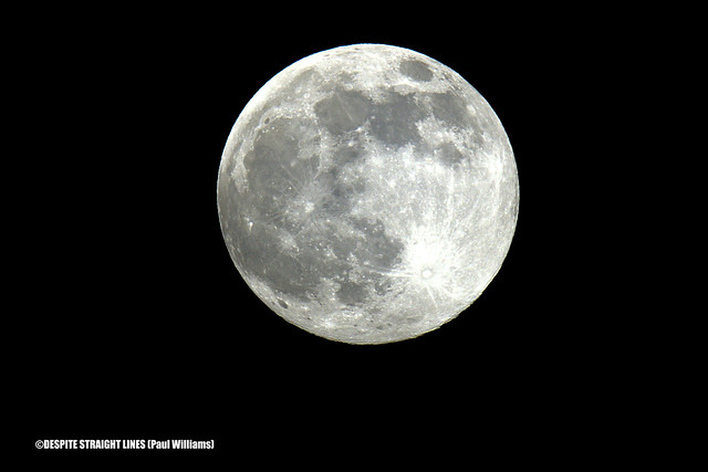 Pink Moon (April Full Moon) - Supermoon (Perigee) 20.24pm  -  (Published by GETTY IMAGES)