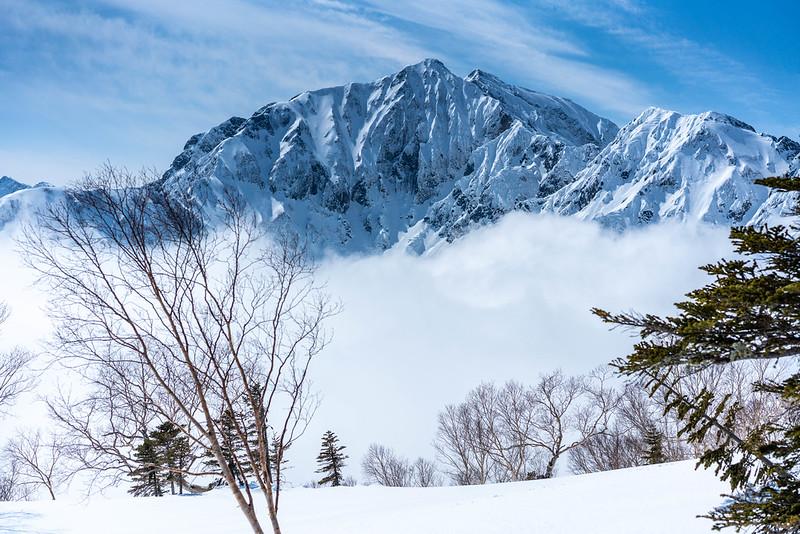 冬の鹿島槍ヶ岳