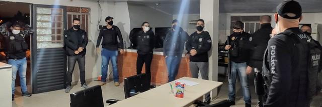 Operação Policia Civil em Palmeira