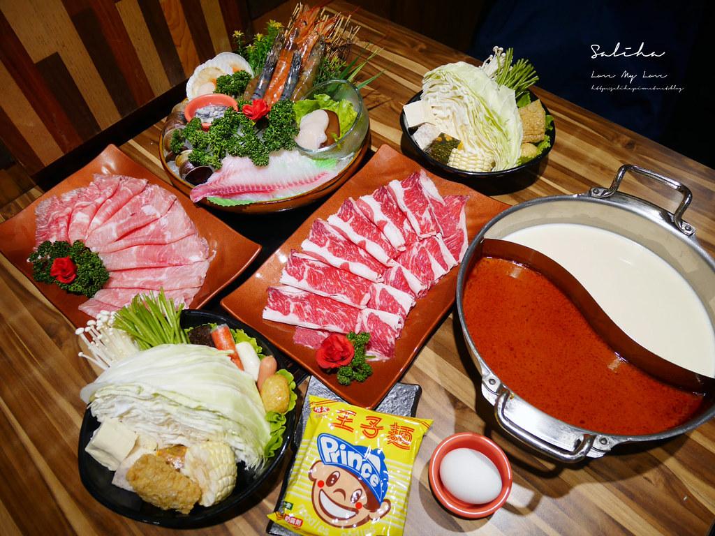 台北西門町聚餐推薦好吃火鍋餐廳和蒝鍋物萬華區餐廳 (1)
