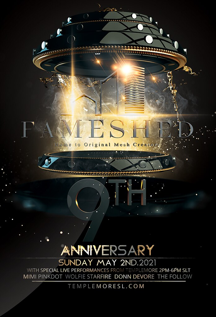 FaMESHed 9th Anniversary Party