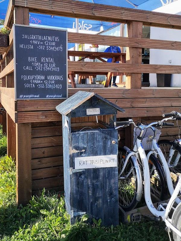 pyöräily prangli