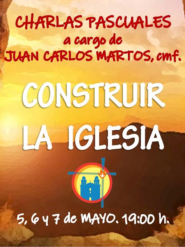 Charlas Pascuales a cargo de Juan Carlos Martos