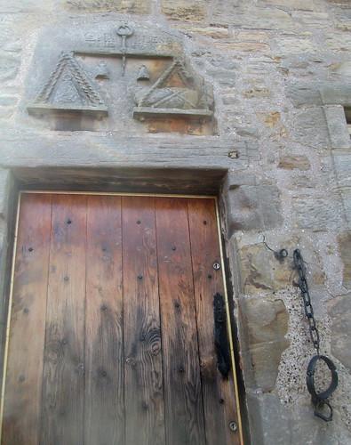 Fife Folk Museum Lintel, Doorway and Jougs