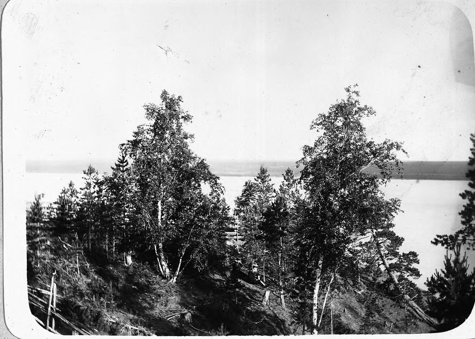 Река Лена. Табагинский утёс