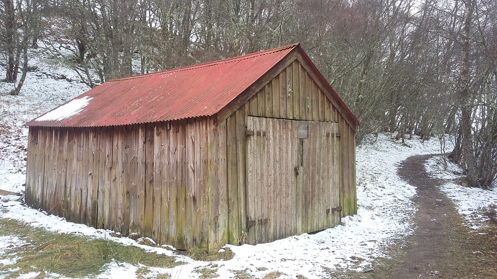 Red Roof, Loch Ruthven Nature Reserve, East Croachy, April 2021