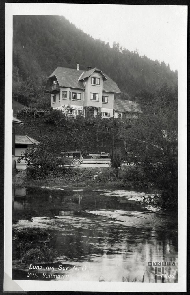 ArchivTappen233AAl3j641 Aufenthaltsort in der K.L.V., Lunz am See, Österreich, 1930-1940er
