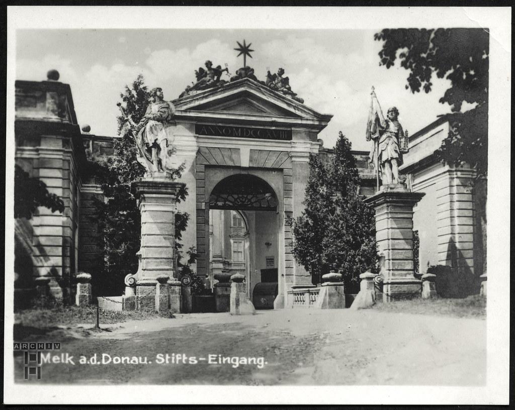 ArchivTappen233AAl3j639 Aufenthaltsort in der K.L.V., Melk Donau, Österreich, 1930-1940er