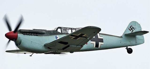 Hispano HA-1112 M4L Buchon Red 11 G-AWHC