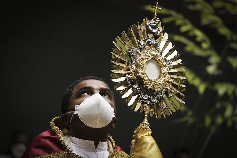Hran recebe visita oração da Arquidiocese de Brasília