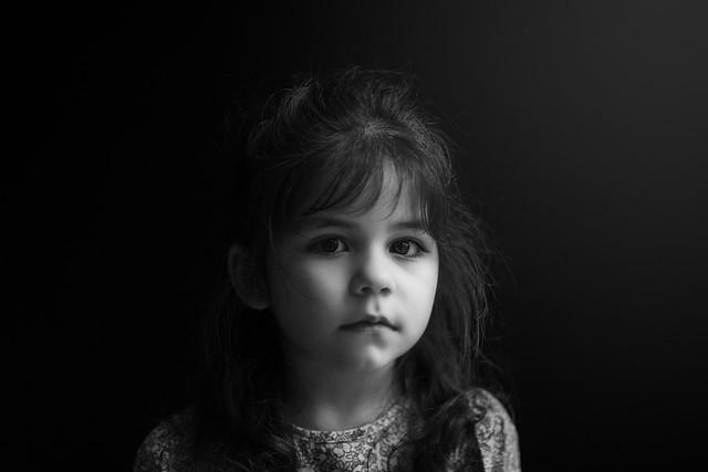 My serious girl