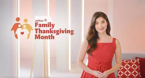 Jollibee Family Thanksgiving Month