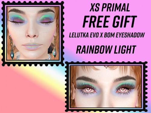 rainbow light free gift