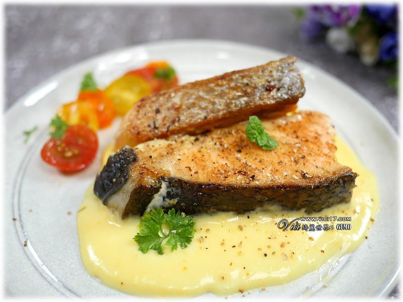 舒肥鮭魚佐奶油慕斯056