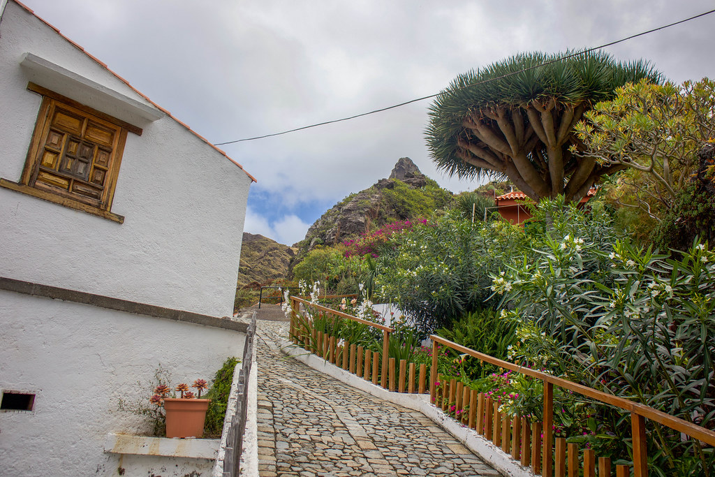 Pueblo de Afur en Anaga
