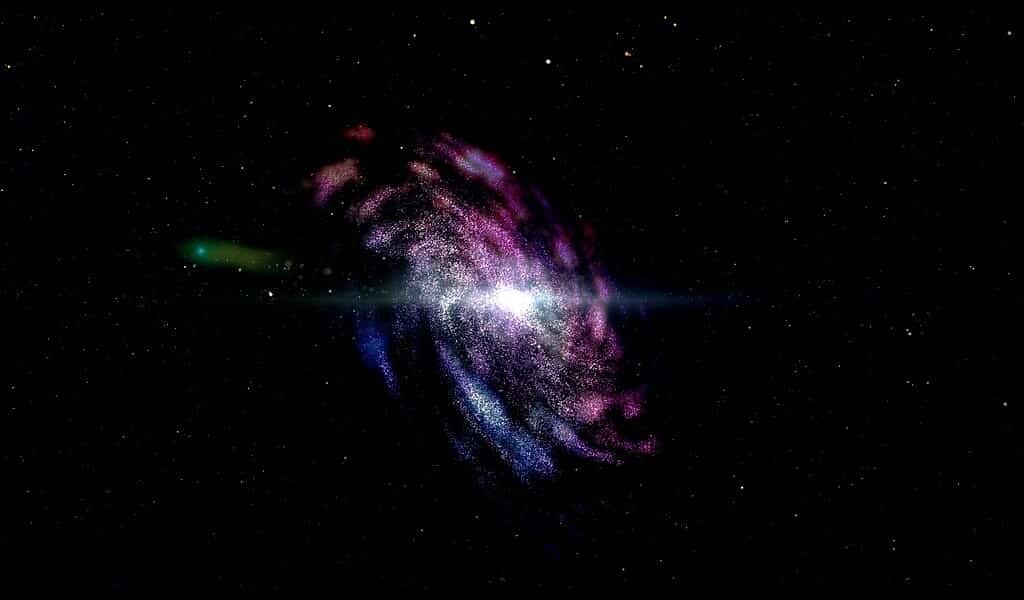 Une galaxie a joué un rôle important dans l'Univers